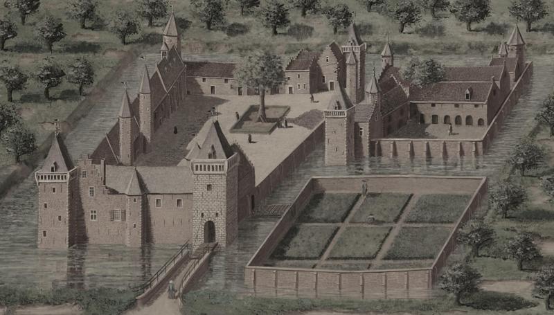 1. Kasteel van Sint-Maertens-dyk
