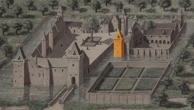 12. Vierkante hoofdtoren