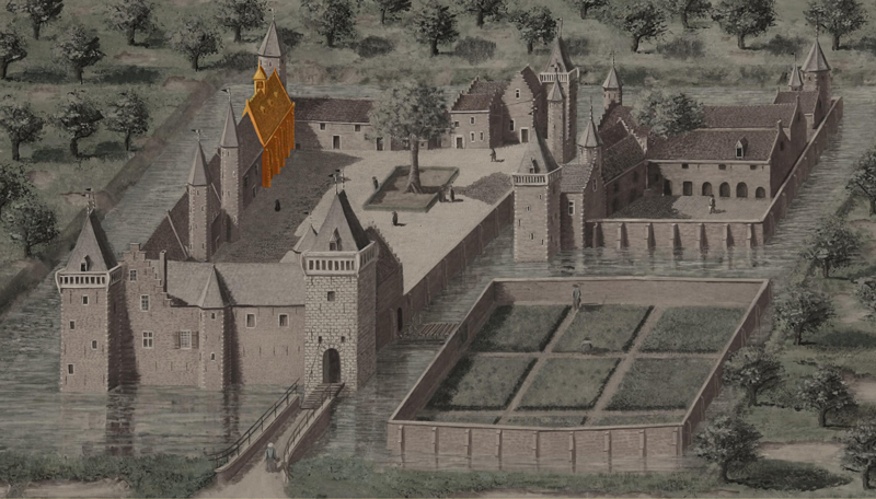 9. Kapel uit 1632